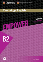 Cambridge English Empower Upper Intermediate Workbook with Answers with  Downloadable Audio
